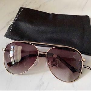 Quay Australia • Vivienne Brown Sunglasses